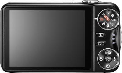 Компактный фотоаппарат Fujifilm FinePix T300 Black - вид сзади