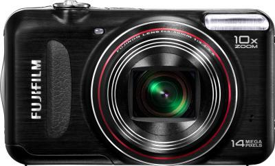 Компактный фотоаппарат Fujifilm FinePix T300 Black - вид спереди