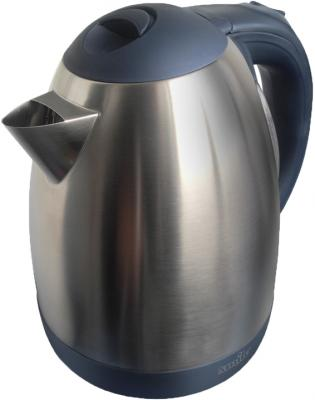 Электрочайник Smile WK5101 (нержавеющая сталь-черный) - общий вид
