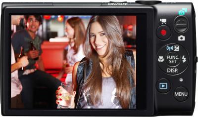 Компактный фотоаппарат Canon DIGITAL IXUS 132 Black - общий вид