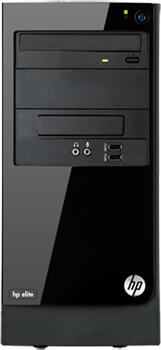 Системный блок HP 7500MT (B5H88EA) - фронтальный вид