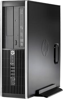 Системный блок HP 6300SFF (LX843EA) - в вертикальном положении