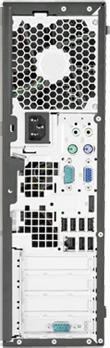 Системный блок HP 6300SFF (LX843EA) - вид сзади