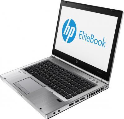 Ноутбук HP EliteBook 8470p (C5A74EA)  - вид сбоку