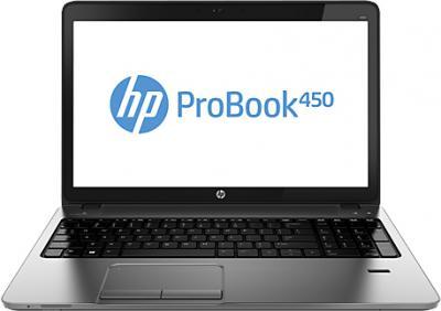 Ноутбук HP ProBook 450 G0 (H6E44EA) - фронтальный вид