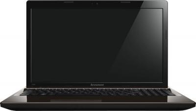 Ноутбук Lenovo G580 (59362133) - фронтальный вид