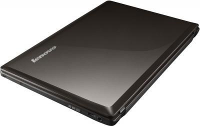 Ноутбук Lenovo G580 (59362133) - в сложенном состоянии
