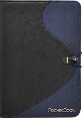 Обложка для электронной книги Vivacase S-style Lux Black-Blue (Skin) - общий вид