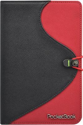 Обложка для электронной книги Vivacase S-style Lux Black-Red (Skin) - вид спереди