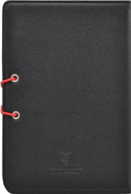 Обложка для электронной книги Vivacase S-style Lux Black-Red (Skin) - вид сзади