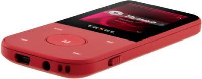 MP3-плеер TeXet T-150 (8GB, красный) - вид сверху