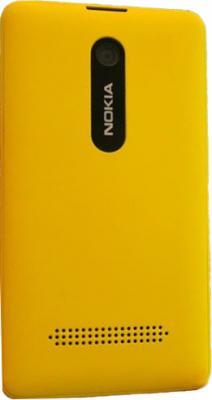 Мобильный телефон Nokia Asha 210 Dual (Yellow) - вид сзади
