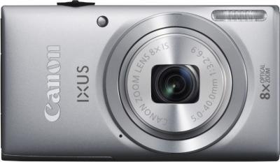 Компактный фотоаппарат Canon DIGITAL IXUS 132 Silver - общий вид