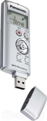 Цифровой диктофон Panasonic RR-US310 (серебристый)
