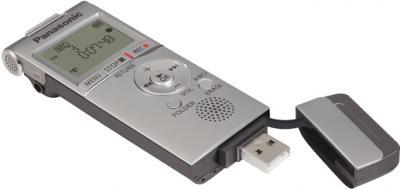Цифровой диктофон Panasonic RR-XS350 Silver - общий вид