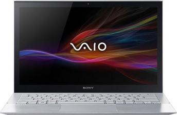 Ноутбук Sony Vaio SVP1121M2RS - фронтальный вид
