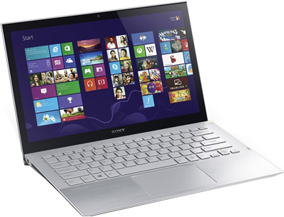Ноутбук Sony Vaio SVP1121M2RS - общий вид