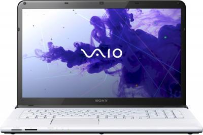 Ноутбук Sony Vaio SVE1713L1RW - фронтальный вид