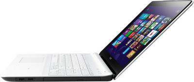 Ноутбук Sony Vaio SVE1713L1RW - вид сбоку