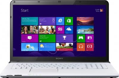 Ноутбук Sony Vaio SVE1713M1RW - общий вид