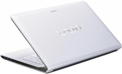 Ноутбук Sony Vaio SVE1713M1RW - вид сзади