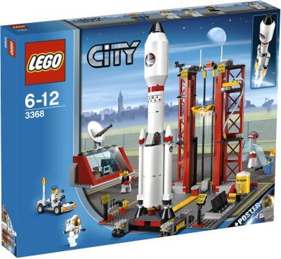 Конструктор Lego City Космодром (3368) - упаковка