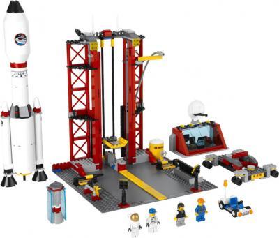 Конструктор Lego City Космодром (3368) - общий вид