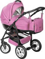 Детская универсальная коляска Riko Primo 2 в 1 (Magenta) -