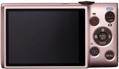 Компактный фотоаппарат Canon DIGITAL IXUS 132 Pink - вид сзади