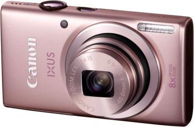 Компактный фотоаппарат Canon DIGITAL IXUS 132 Pink - общий вид