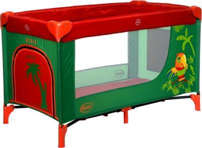 Кровать-манеж 4Baby Royal Parrot - общий вид