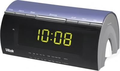 Радиочасы Vitek VT-3524  (Black) - общий вид