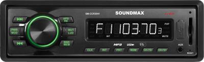 Бездисковая автомагнитола SoundMax SM-CCR3041 - общий вид
