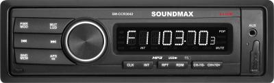 Бездисковая автомагнитола SoundMax SM-CCR3042 - общий вид