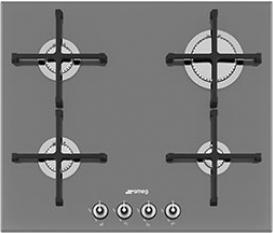 Газовая варочная панель Smeg PV164S  - общий вид