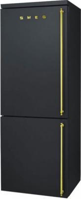 Холодильник с морозильником Smeg FA8003AOS - общий вид