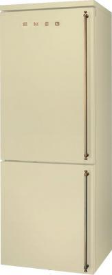 Холодильник с морозильником Smeg FA8003POS - общий вид