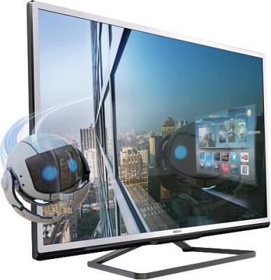 Телевизор Philips 32PFL4508T/60 - вид сбоку