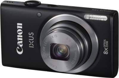 Компактный фотоаппарат Canon DIGITAL IXUS 135 (черный) - общий вид