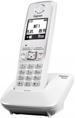 Беспроводной телефон Gigaset A420 (White) - общий вид