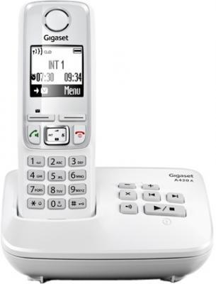 Беспроводной телефон Gigaset A420A White - общий вид