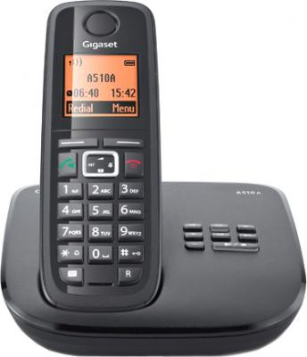 Беспроводной телефон Gigaset A510A System Black - общий вид