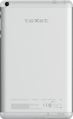 Планшет TeXet NaviPad TM-7045 3G (White) - вид сзади
