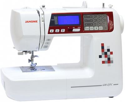 Швейная машина Janome 608QDC - общий вид