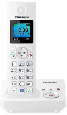 Беспроводной телефон Panasonic KX-TG7861  (White, KX-TG7861RUW) - общий вид