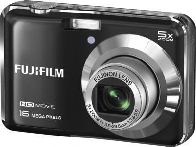 Компактный фотоаппарат Fujifilm FinePix AX650 Black - общий вид
