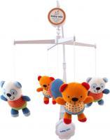 Каруселька Baby Mix TK/308 (полосатые панды)  -
