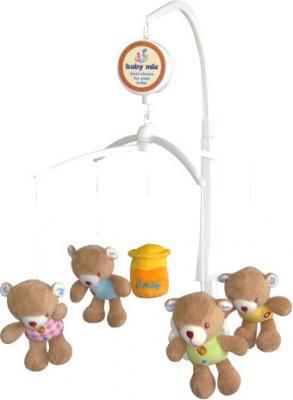 Каруселька на кроватку Baby Mix TK/788М (мишки с медом)  - общий вид