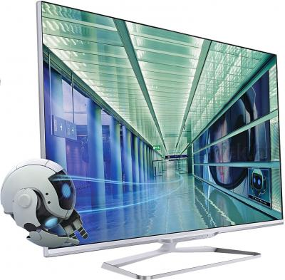 Телевизор Philips 47PFL7108S/60 - полубоком