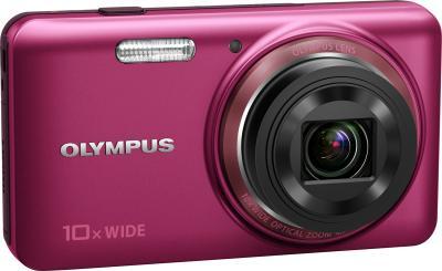 Компактный фотоаппарат Olympus VH-520 (красный) - общий вид